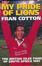 """""""il mio orgoglio DEI LEONI"""" Fran COTONE BRITISH LIONS TOUR 1997 libro di Rugby"""