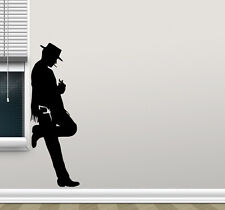 Cowboy Wall Decal Clint Eastwood Vinyl Sticker Western Decor Movie Poster 58thn