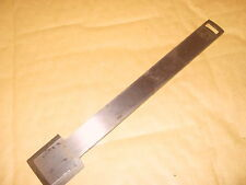 Spare Record No.073 Shoulder Plane Iron - Made In England - As Photo