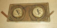 1 PAIR VINTAGE MARSH SERVICEMAN SUPER-HEAT THERMOMETERS