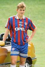 Andreas Herzog Bayern München 1995-96 seltenes Foto+2