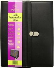 A4 Presentation Conference Folder Ring Binder - Desk Top Tri Fold Display Easel