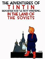 TINTIN - IN THE LAND OF THE SOVIETS H/B - BRAND NEW