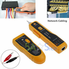 Network LAN Phones Telephone Cable Toner Wire Line Tester Tracer Tracker RJ45/11