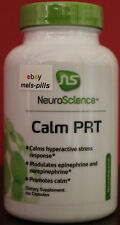 NEW NeuroScience Calm PRT 120 caps Reduce Stress/Hyperactivity, Promote Calm