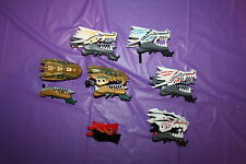 LEGO USED, mixed lot of various dragon heads, ninjago, etc, LotD720
