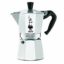 NEW 6800 Moka Express 6-Cup Stovetop Espresso, Aluminum Maker By Bialetti
