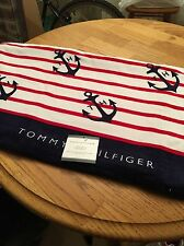 Tommy Hilfiger Nautical Anchor Beach Towel