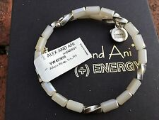 NWT ALEX and ANI VINTAGE 66 ICE ALLURE Silver Beaded Wrap BRACELET��