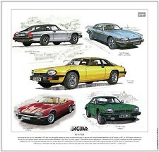 JAGUAR XJ-S / XJS - FINE ART PRINT - Coupe Convertible  V12 HE & AJ6 3.6 engines