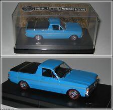 FORD XY FALCON 500 UTE BLUE UTILITY TRAX TR67B 1:43 SCALE DIECAST MODEL CAR