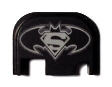 Rear End Cover Back Slide Plate most models of GLOCK Batman Superman
