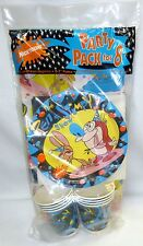 Ren & Stimpy Party Pack For 8 Nickelodeon 1992 MIP Trend Setters TV Show Cartoon