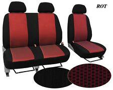 Für Fiat DUCATO  ab 2006 hochwertige paßgenaue Sitzbezüge im Design VIP