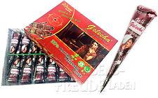 1x Golecha Arabo naturale pasta hennè - Coni á 25g per Mehndi Tatuaggi - 100%
