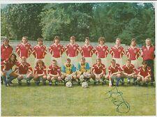 TOMAS REPKA CZECH REPUBLIC UEFA EURO 1998 ORIGINAL HAND SIGNED TEAM GROUP
