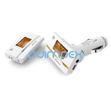MP3 Player Auto FM 212A Transmitter getrennt 2 in 1 TF Karte Slot Weiss-Gold