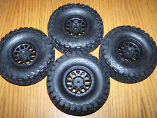 Axial SCX10 II 2000 Jeep Cherokee Front Rear 1.9 BFGoodrich Tires 12mm Wheels ll