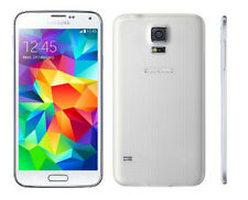 "5.1"" Samsung Galaxy S5 G900A 4G LTE Libre Telefono Movil 16GB NFC 16MP Blanco"