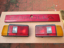 Toyota Corolla AE82 Seca liftback Tail Lights and centre panel 1983 - 1987