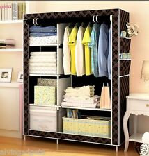 Portable Stylish Closet Storage Wardrobe And Clothes Organizer