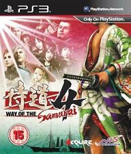 Way of the Samurai 4  (PS3) NEW SEALED PAL