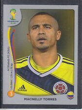 Panini - Brazil 2014 World Cup - # 197 Macnelly Torres - Colombia - Platinum