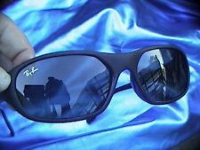 vintage daddy-0 rayban rb2016 w2578  brand new black lenses used black frame