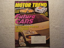 Motor Trend 1997 March Dodge Intrepid Shelby Toyota Sienna BMW Buick Regal GS