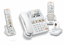 Vtech Careline Plus SN6197 Home Safety Senior Telephone System w SN6307 SN6167