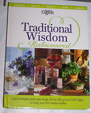 Readers Digest Traditional Wisdom Rediscovered cooking health beauty home garden