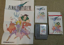 Final Fantasy 7 VII NES ENGLISH Nintendo FF7  RPG Complete CIB!!!