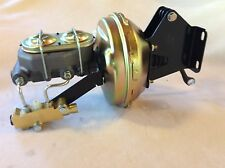 "Jeep CJ5 CJ7 9"" factory style power Brake booster & master cyl disc drum valve"