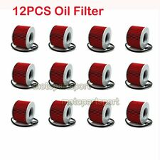 12x Oil Filter For Honda CB350 CB500 CB650 CB750 CB900 CBX1000 GL1200 GL1000