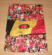 PANINI CARREFOUR 64-72/180 BELGIAN RED DEVILS TOUS ENSEMBLE PUZZLE SET 9 CARDS