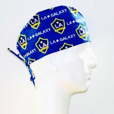 MLS LA Galaxy Soccer Club theme scrub hat