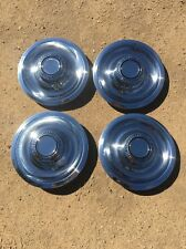 Chevy wheel center caps hubcaps rally  Disc Brake Assembly Power NEW SET OF 4