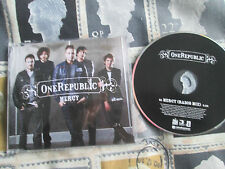 ONE REPUBLIC mercy radio edit Promo CD Single  ONEREP03 Promo CD Single