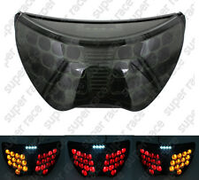 Smoke Brake Turn Signal Tail Light Integrated Led For Honda 2004~2006 CBR600F4i