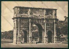 Roma Città Arco di Costantino PIEGHE FG cartolina VK2390