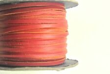 3mm Flat Genuine Leather Thonging,Strip,Laces,Cord In Various Colours And Length