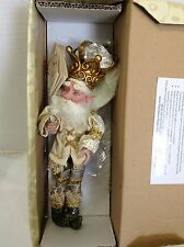 """Mark Roberts Holiday Christmas Blessings Fairy Elf Small 11"""" Figure SIGNED"""
