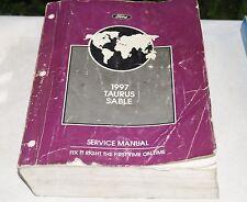 1997 Ford Taurus Sable OEM Service Shop Manual Repair Book