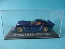 PANOZ ESPERANTE GTR 1 - BLUE / AZUL - 1/43 NEW IXO ALTAYA DREAM CARS