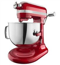 KitchenAid Pro Line Apple Red Bowl Lift Stand Mixer KSM7586PCA, 7 qt, 1.3-hp