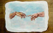 Touch of life - PEZZO UNICO - affresco 70x43