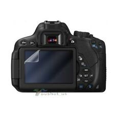 3x LCD Screen Protector For Canon EOS Rebel T2i T3i 550D 600D 60D 5D Mark III