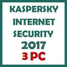 KASPERSKY INTERNET SECURITY MULTI DEVICE 3PC 1 Year FOR 2017  NEW