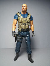 FIGURINE  1/18  FAST  AND  FURIOUS   ROCK  JOHNSON  A  PEINDRE  UNPAINTED