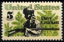 EE. UU. 1967 SG#1310 #D38862 Davy Crockett estampillada sin montar o nunca montada